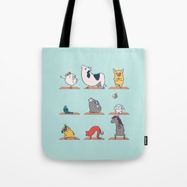 Vegan Yoga Tote Bag