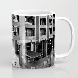 The Three and The Ominious Barbican City Coffee Mug