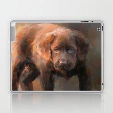 A Little Bit of Chocolate Lab Laptop & iPad Skin