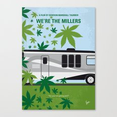 No763 My We are the Millers minimal movie poster Canvas Print