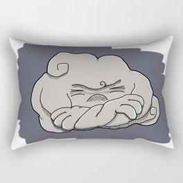 Cloudy Mood Rectangular Pillow