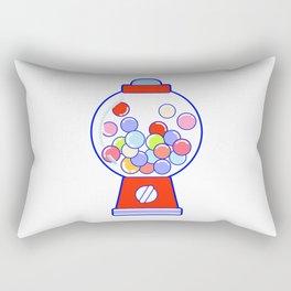 Gum Ball Machine Rectangular Pillow