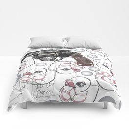 Tough Chicks Comforters