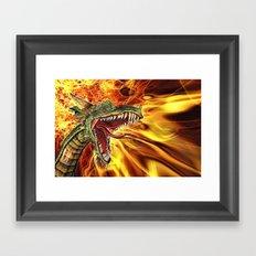 Draco Framed Art Print