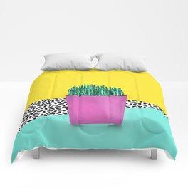 Cactus Fries 90s Style Comforters