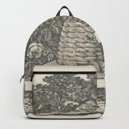 Beehive Woodcut Backpack