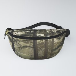 Sunrise Shroud Pine Forest Fanny Pack