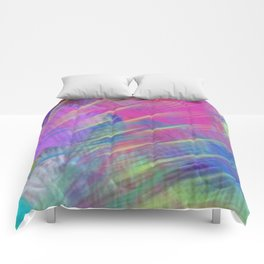 Colorful Curb Appeal Abstract Comforters