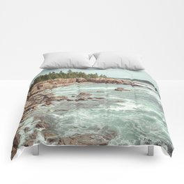 Swirling Sea Comforters