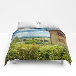 San Gimignano, Tuscany, Italy Comforters