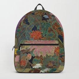 flower【Japanese painting】 Backpack