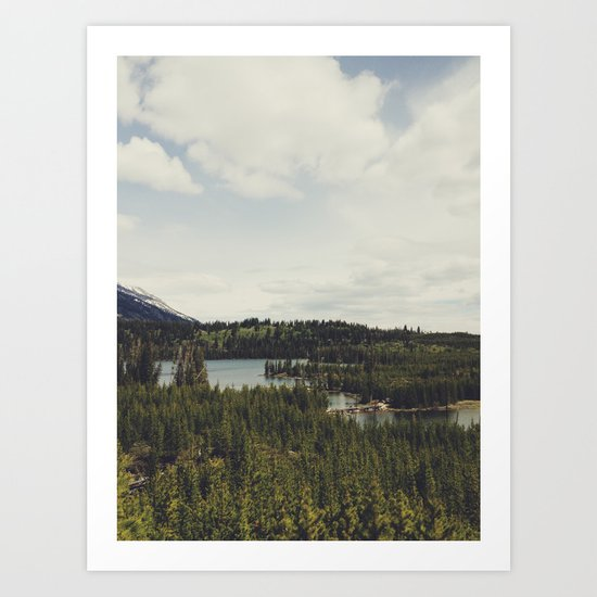 Taggart Lake Art Print