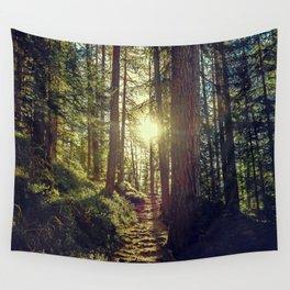 Hidden trail Wall Tapestry
