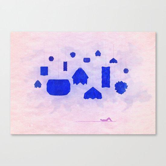 Under Origami Skies Canvas Print