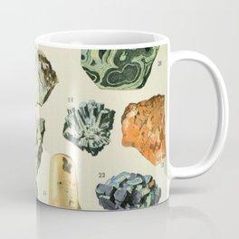Vintage Minerals Chart Coffee Mug