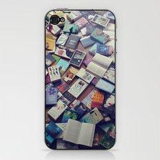 Book mania! (1) iPhone & iPod Skin