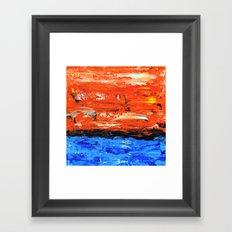 Color Combo #3 Framed Art Print