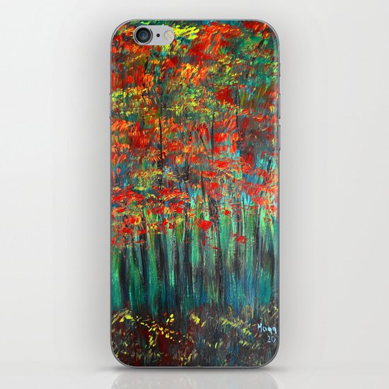 Forest Abstract iPhone & iPod Skin