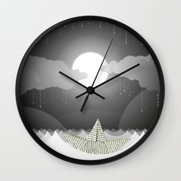 Dream Sea Wall Clock