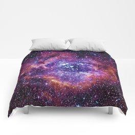 Rosette Nebula Comforters