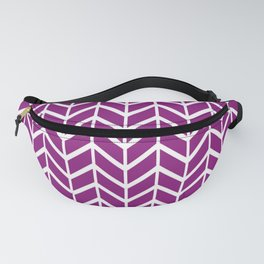 2019 Color: Orchid Blood in Chevron Fanny Pack