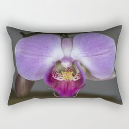 Purple Orchid Rectangular Pillow