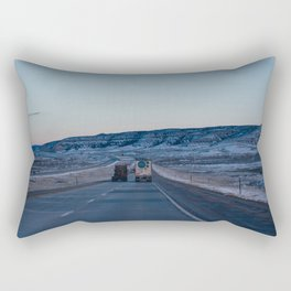 Sunset Highway - Casper, WY Rectangular Pillow