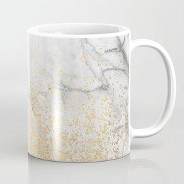Gold Dust on Marble Coffee Mug