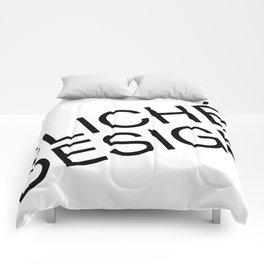 Cliché Design Comforters
