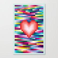 Mega ☐ Love Canvas Print