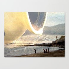 Pouring Water Canvas Print