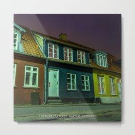 Latinerkvarteret, Aarhus, Denmark Metal Print