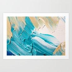 Wasser 3 Art Print