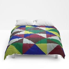 Geometric Triangles Comforters