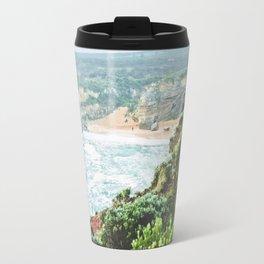 Wild seashore, Australia Travel Mug