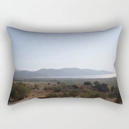 Akyaka to the Bay Of Gokova Rectangular Pillow