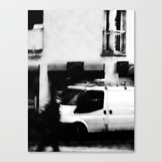 I follow you in the street, sometimes. 5 Canvas Print