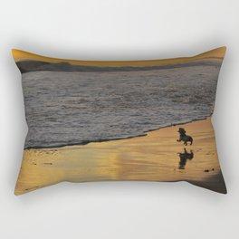 Fearless Determination, Plentiful Joy Rectangular Pillow