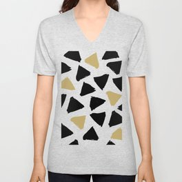 Geometric Pattern 8 Unisex V-Neck