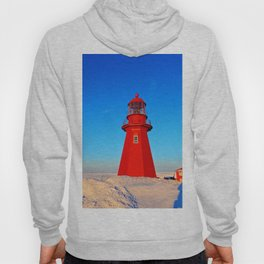 Lighthouse  and Frozen Sea Hoody