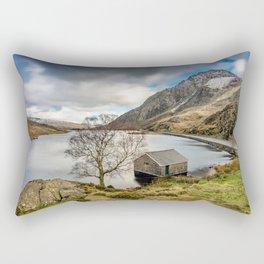 Lake Ogwen Snowdonia Rectangular Pillow