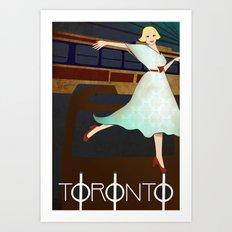 Toronto Transit Art Print