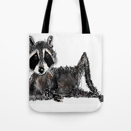 just a sexy-ass raccoon Tote Bag