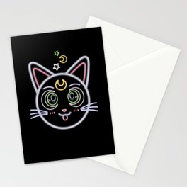 Neon Artemis Stationery Cards