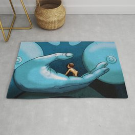 TERR MEETS TIVA IN FANTASTIC PLANET Rug