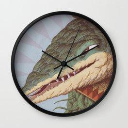 Croc Surprise Wall Clock