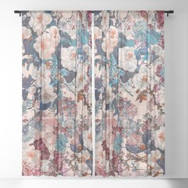 Romantic Garden XII Sheer Curtain