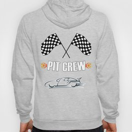 Pit Crew Design for Hosting Race Car Parties Parents Pit Hoody