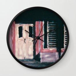 Isla Mujeras Mexico Wall Clock