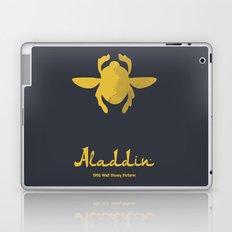 Aladdin, minimal movie poster, 1992 classic animated movie, Robin Williams, princess Jasmine, Jafar Laptop & iPad Skin